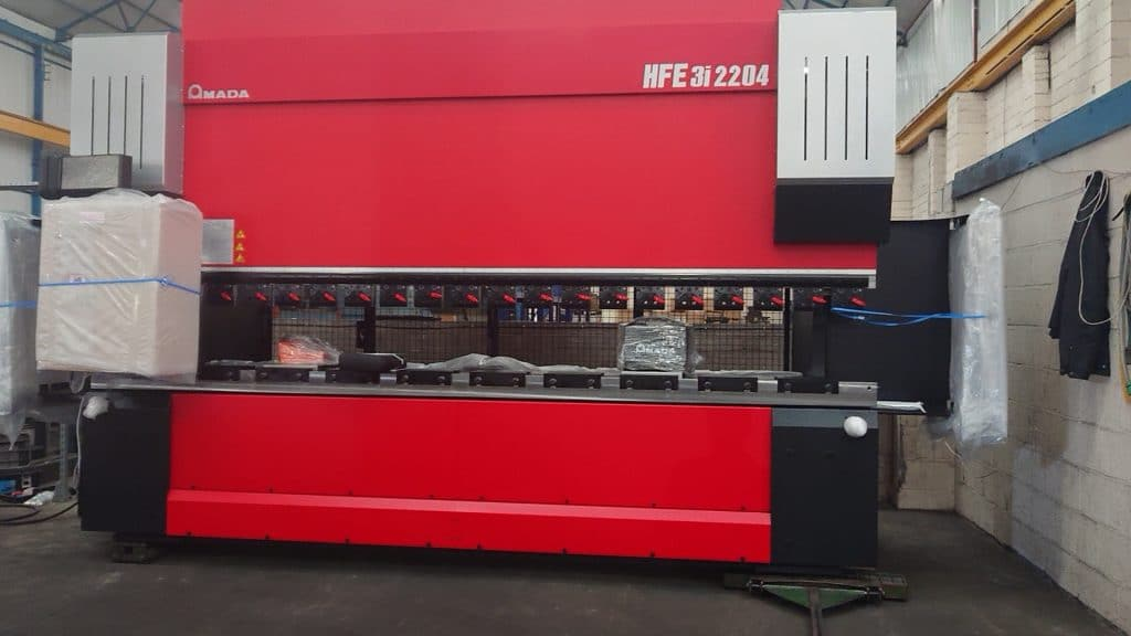 New Press Brake Equipment At GF Laser