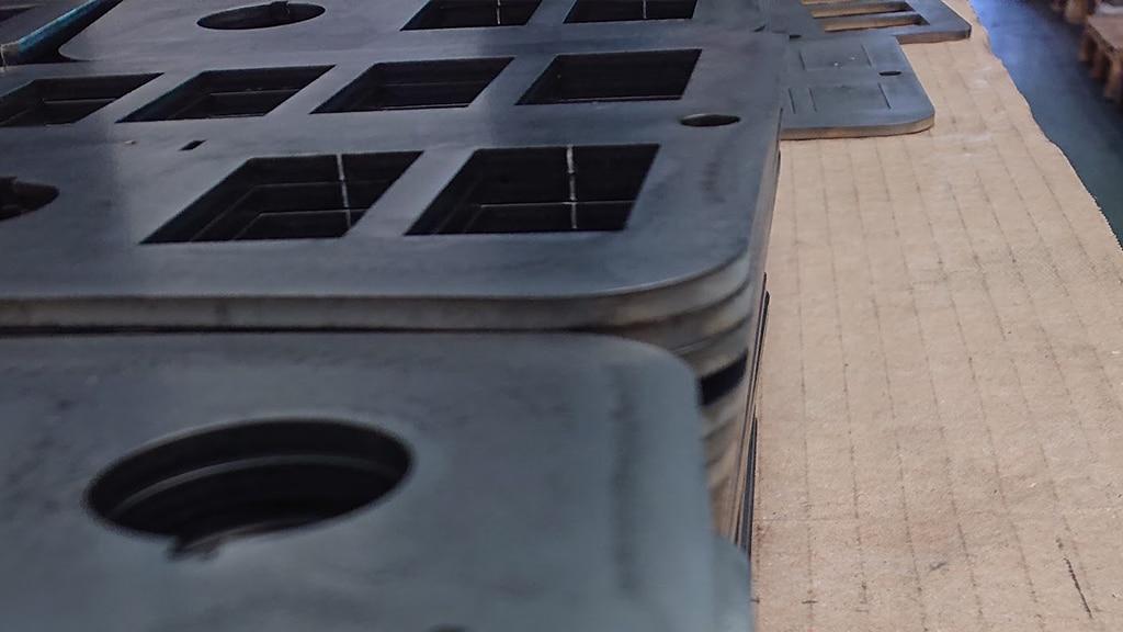 Mild steel laser cut parts